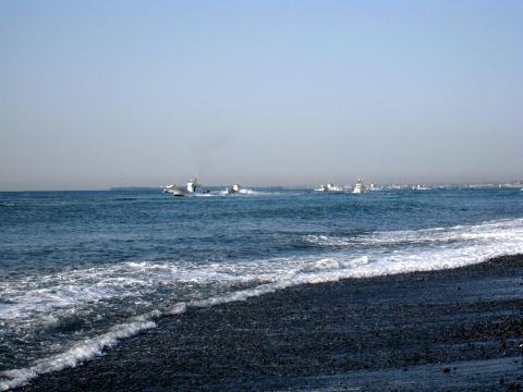 漁船団の来襲